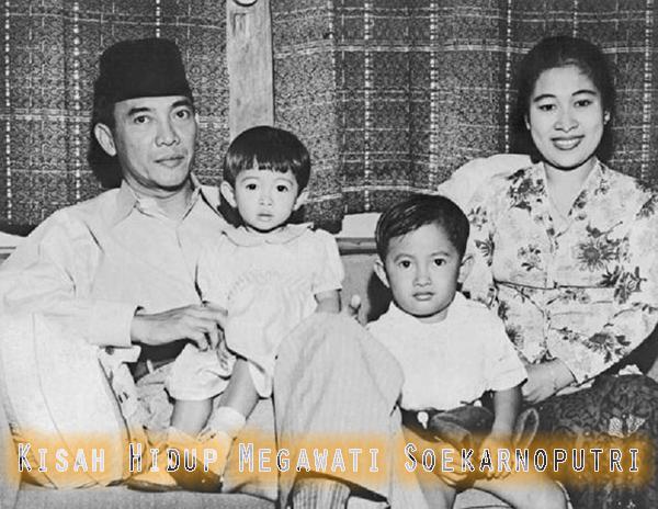Perjalanan Hidup Megawati Soekarnoputri