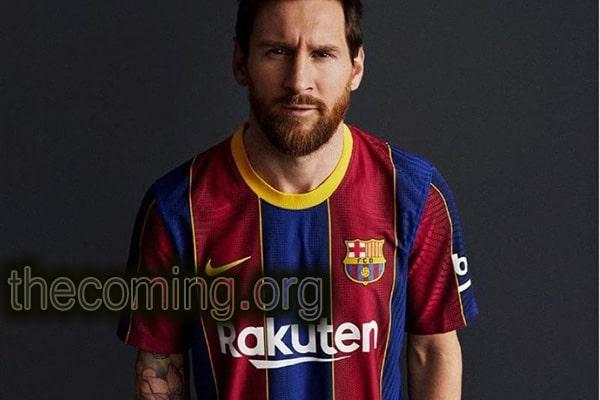 Motif Baru Pada Jersey Barcelona