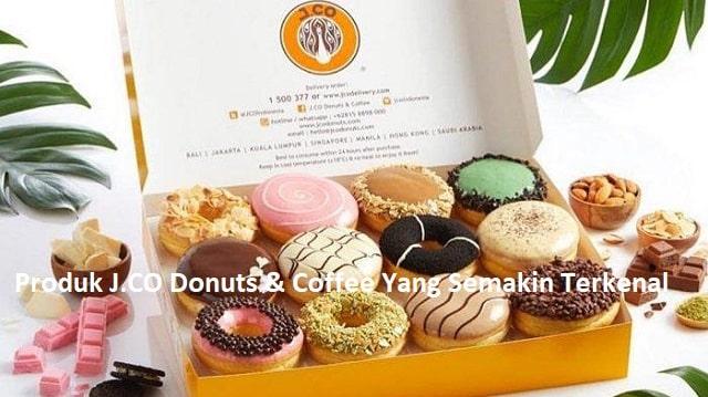 Produk JCO Donuts & Coffee Yang Semakin Terkenal
